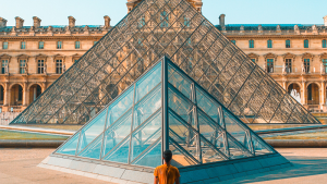 Restoration of the Louvre During Lockdown