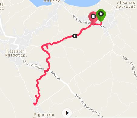 Buggy Friendly Summer Walks in Zakynthos