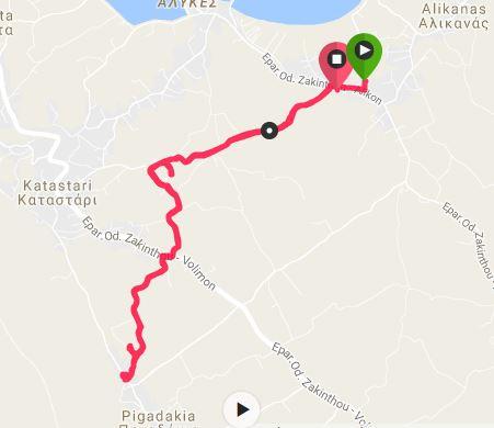 Buggy Friendly Summer Walks in Zakynthos