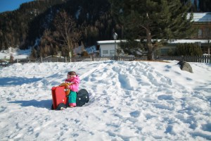 A Day in the Life of a Ski Season with Baby