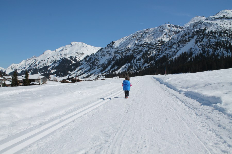 Buggy Friendly Winter Walk in Lech
