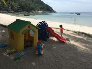 Hiking on Koh Phangan with a Toddler