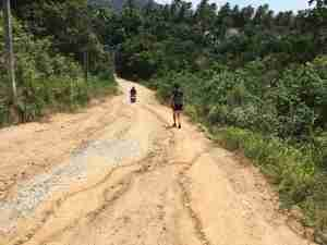 Hiking on Koh Phangan with a Toddler