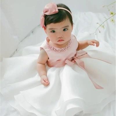 vestido bautizo rosal