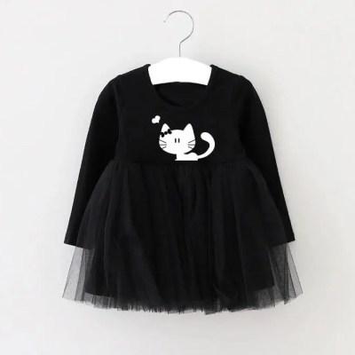 Vestido Cat black.