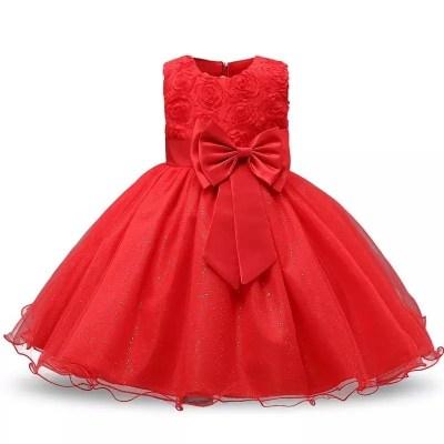 Vestido luna rojo