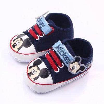 Zapatillas mickey azul