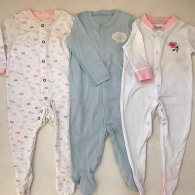 Set de 3 pijamas bebe