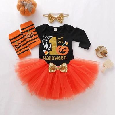 Conjunto My 1 Halloween niña