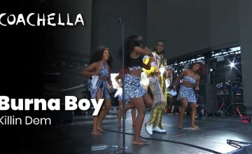 Burna Boy performance at Coachella 2019