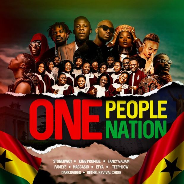Stonebwoy One People One Nation audio download