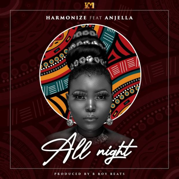 Harmonize All Night ft Anjella