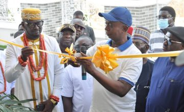 Ned Nwoko, Mr P, Juliet Ibrahim, Others Storm House Opening Of Prince Kpokpogri