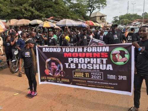 Bring TB. Joshua's Body Home For Burial – Ondo Youths Tell Family