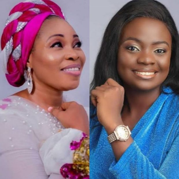 Tope Alabi, under fire for mocking her colleague, Adeyinka Alaseyori's song 'Oniduro'