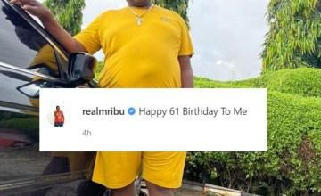 John Okafor 'Mr Ibu' Celebrates His 61st Birthday Today (Photo)