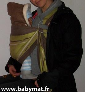 Manteau Wallaboo avec jambières Baberoo et boots Shooshoos
