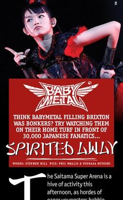 babymetal metal hammer 2012 february