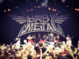 babymetal rock on the range