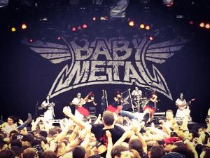 babymetal rock on the range
