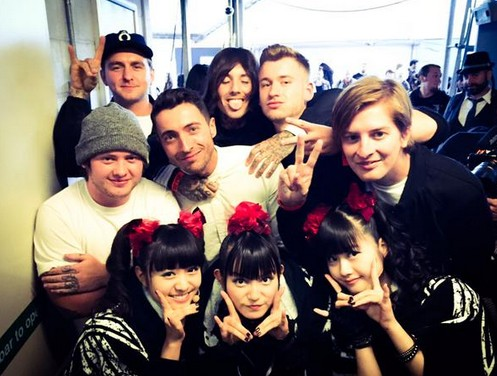 babymetal We met Bring Me The Horizon