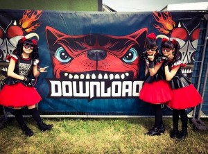 babymetal download festival2015