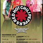 BABYMETAL レッドホットチリペッパーズUKツアーにゲスト出演!