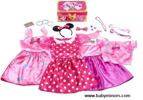 Disney-Minnie-Mouse-Bowdazzling-Dress-Up-Trunk-Set-Latest Gifts Ideas For 1 Year Old Baby Girl In 2020