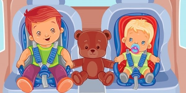Car Seat for Twins Baby