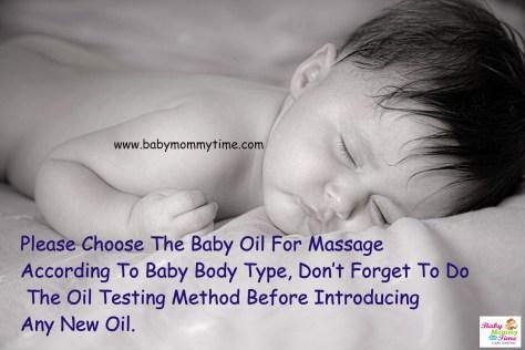 Baby Oil Massage