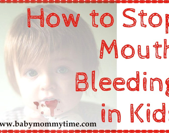 How to Stop Mouth Bleeding in Kids (Home Remedies)