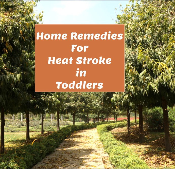 Home Remedies For Heat Stroke in Toddlers