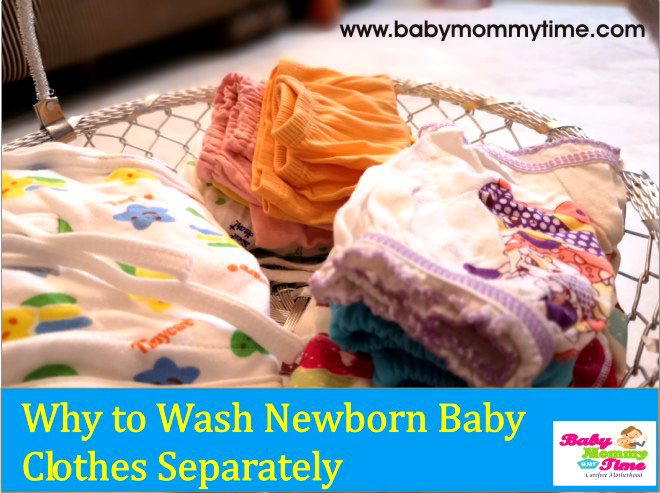 Why to Wash Newborn Baby Clothes Separately