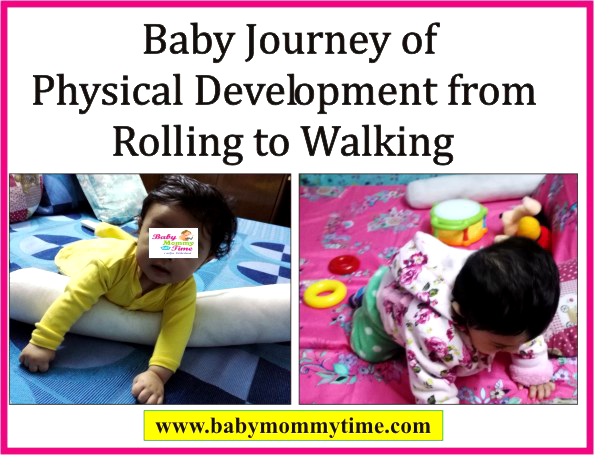 Baby Journey of Physical Development from Rolling to Walking