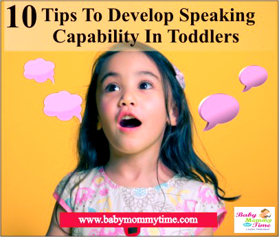 10 Tips to Develop Speaking Capability in Toddlers