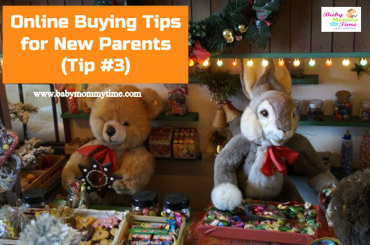 Online Buying Tips for New Parents (Tip #3/5)