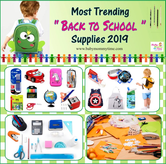 Most Trending Back to School Supplies 2019