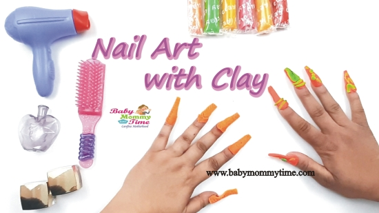 How to Teach Nail Art with Colorful Clay