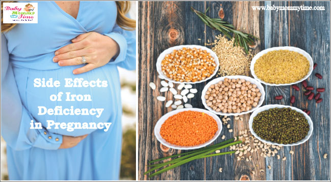 Side Effects of Iron Deficiency in Pregnancy