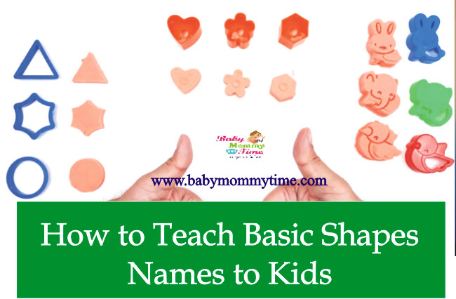 How to Teach Basic Shapes Names to Kids