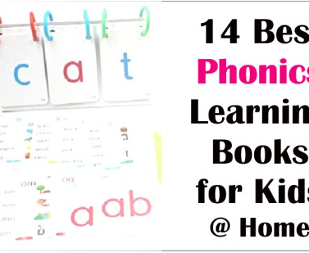 14 Best Phonics Learning Books for Kids at Home