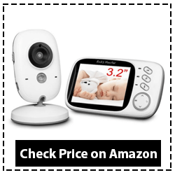 HelloBaby 3.2 Inch Video Baby Monitor
