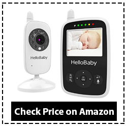 babysense Video Baby Monitor, with Night Vision Camera