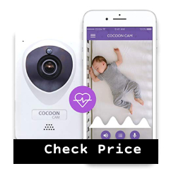 cocoon cam plus breathing baby monitor