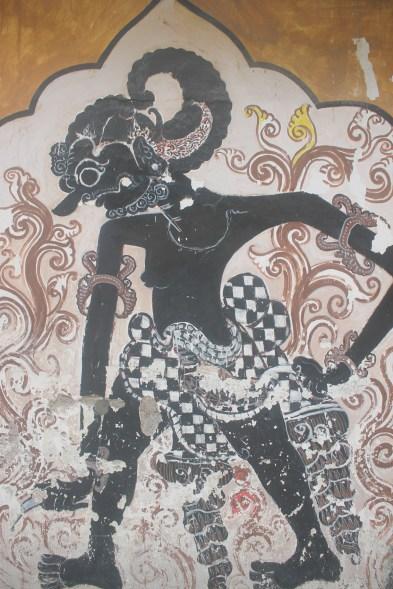 Mural-mural di dinding
