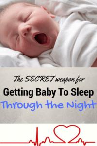 White noise to help baby sleep through the night