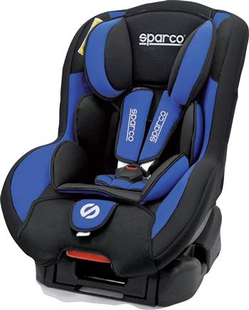 Sparco f500k convertible car seat blue baby needs - Silla bebe sparco ...