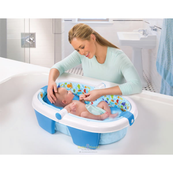 Summer Infant : Newborn to Toddler Fold Away Baby Bath | Baby ...