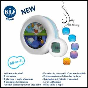 Baby no Soucy teste Kid's sleep moon