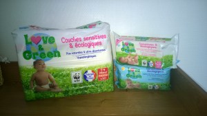 test couches love & green baby no soucy